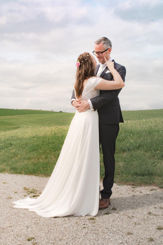 """Der """"First Look"""" - so hat der Bräutigam seine Zukünftige noch nie gesehen - Hochzeitsfotos"""