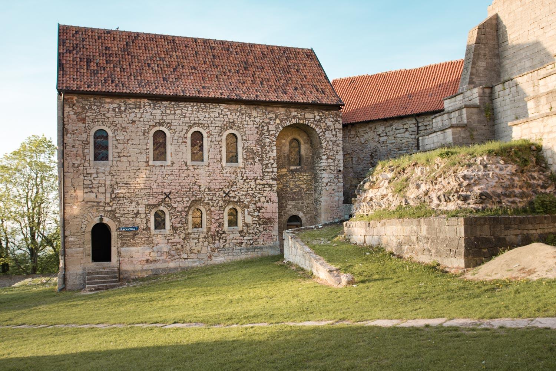 Die Kapelle von Burg Lohra in Thüringen - ein traumhafter Ort für Trauungen im feierlichen Rahmen. Hier fand das Hochzeitsfestival seinen Höhepunkt