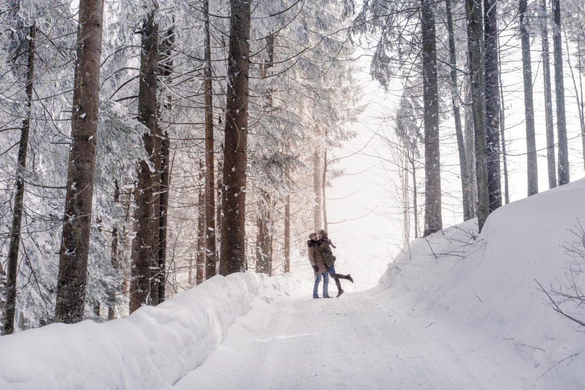 Winterausflug zum Spitzingsee