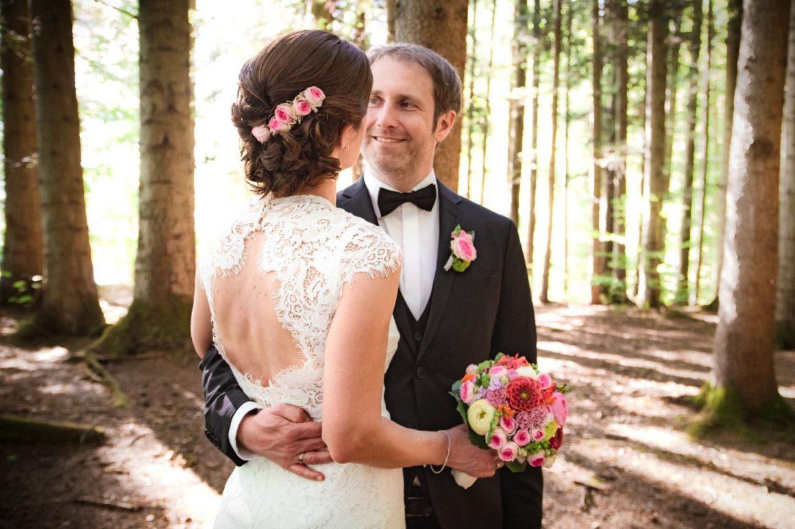 Sommerliche Hochzeit am Steinsee