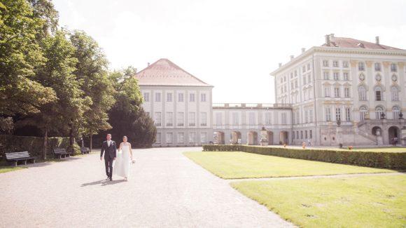 Hochzeit am Schloss Nymphenburg in München