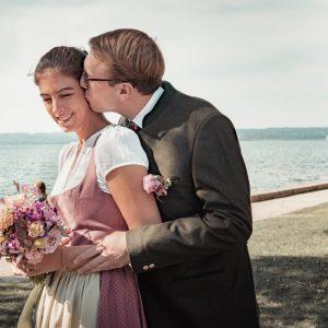 Bayerische Hochzeit im Kurparkschlösschen in Herrsching