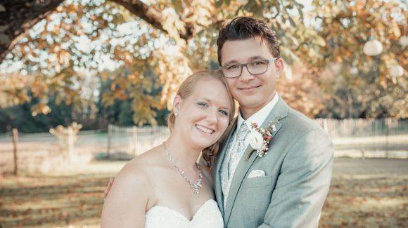 Hochzeit im Herbst in der Alten Tenne