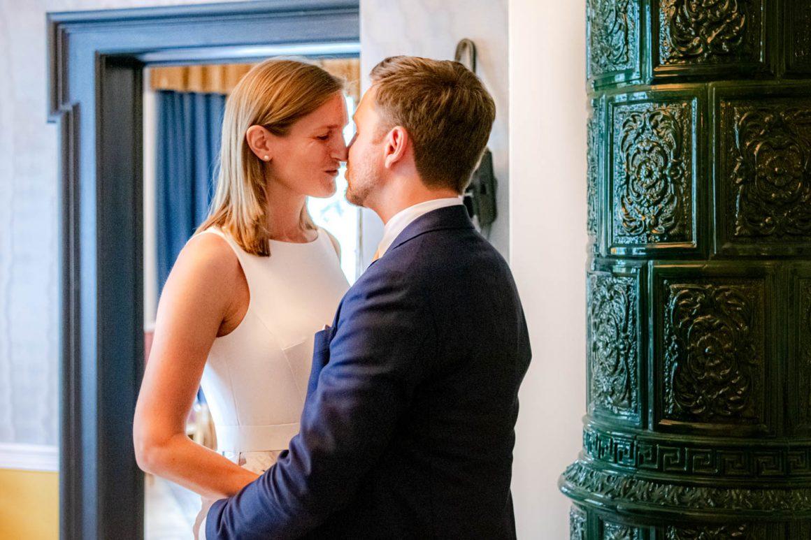 Hochzeit bei Feinkost Käfer