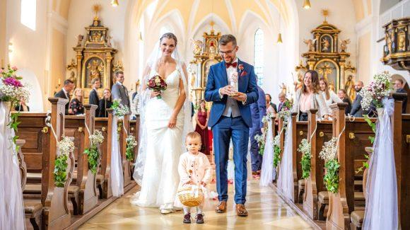 Kirchliche Hochzeit in Feldkirchen