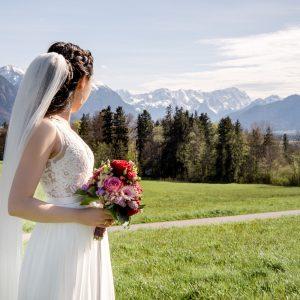 Kirchliche Hochzeit in Murnau am Staffelsee