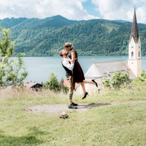 Bayerische Hochzeit am Schliersee